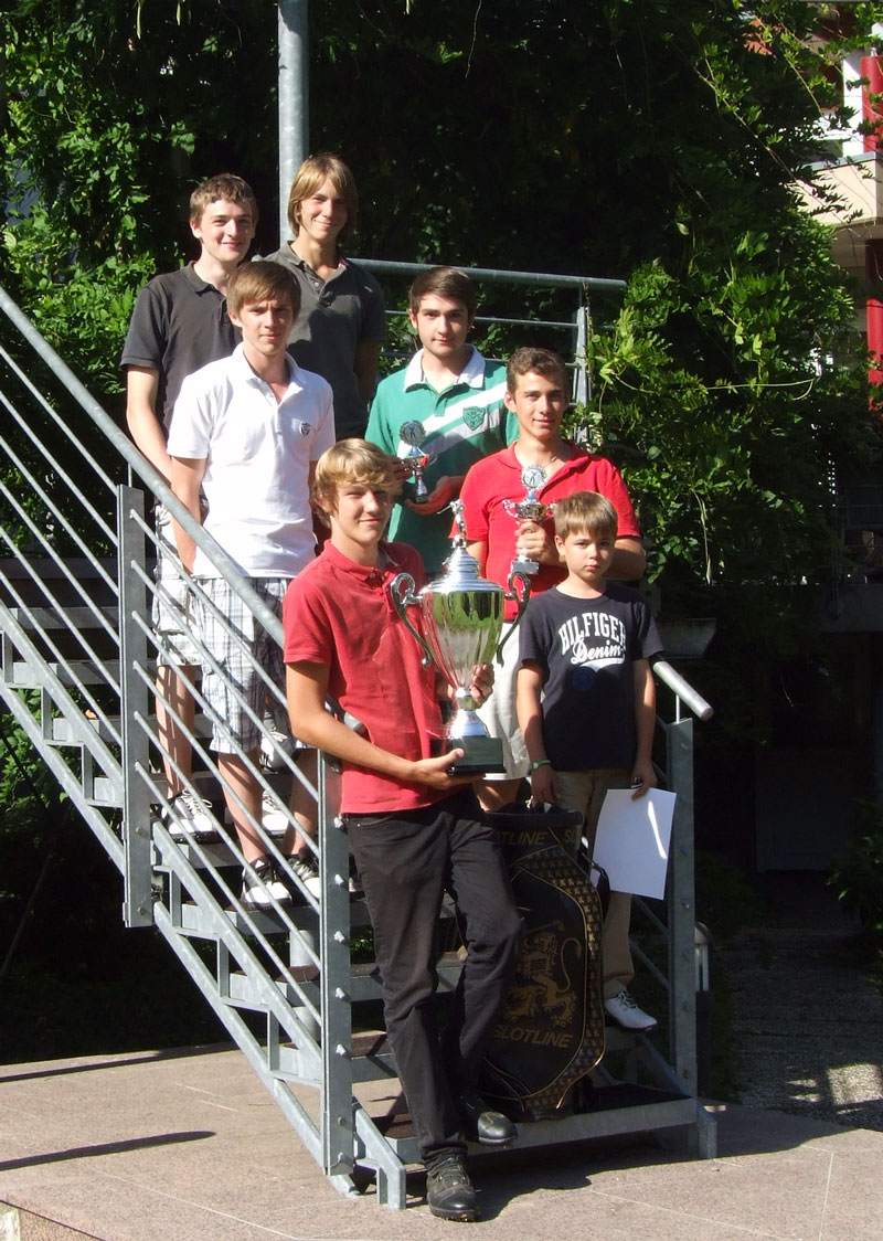 Clubmeister Jugend 2012