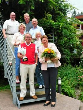 Sieger und Platzierte der Clubmeisterschaften der Seniorinnen und Senioren