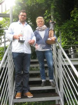 Clubmeister 2014 R. Delker und T. Wiesemann