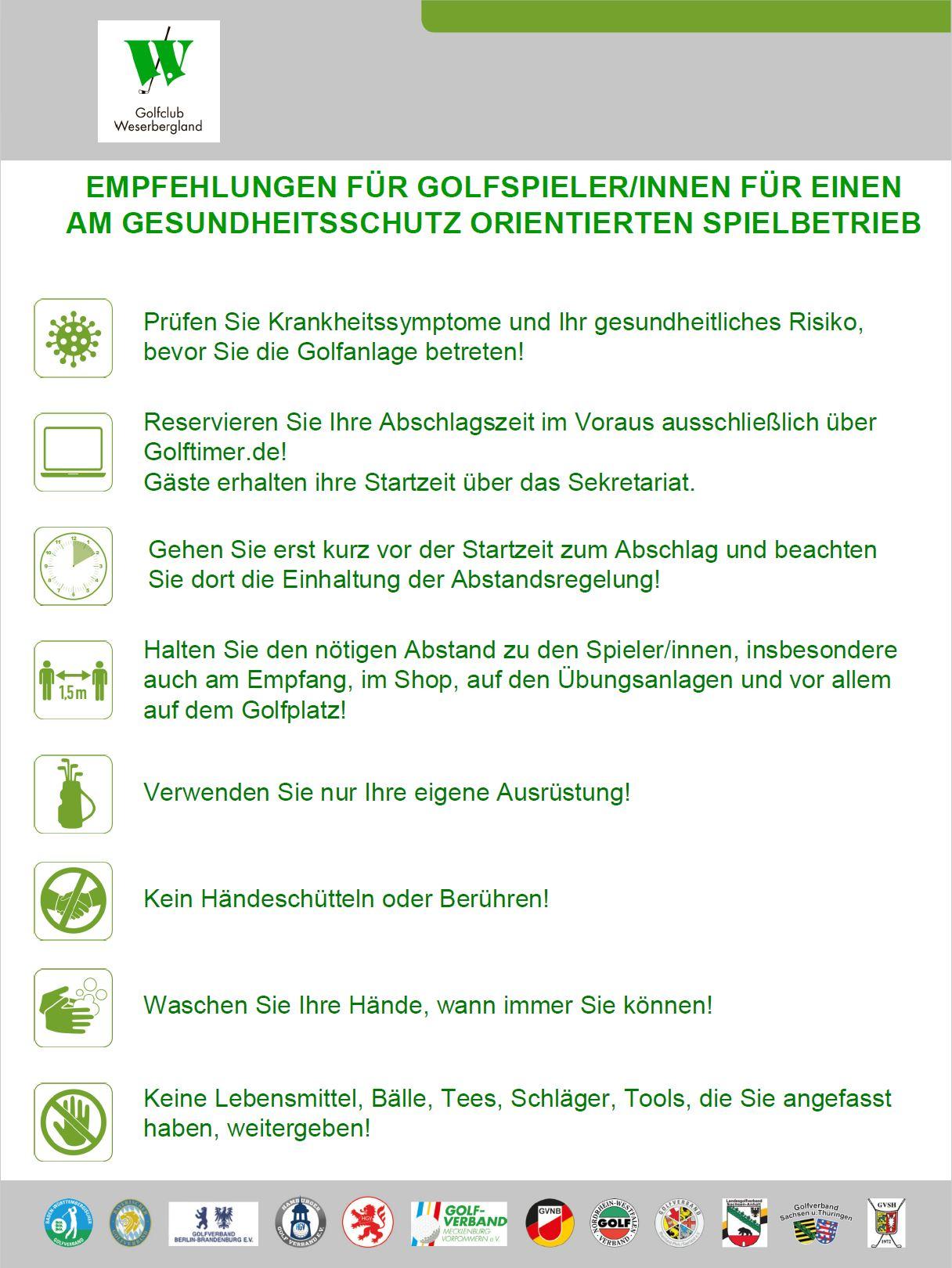 Empfehlungen für Golfer_1